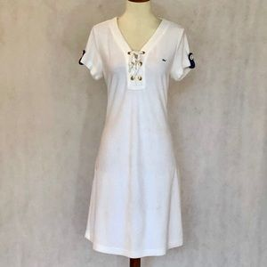 Vineyard Vines White French Terry Coverup